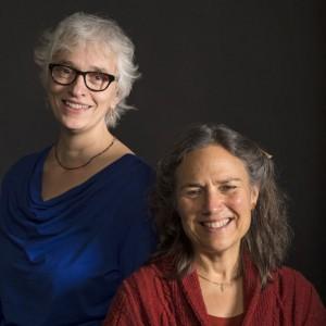 Veronika Simonett en Laura Stone