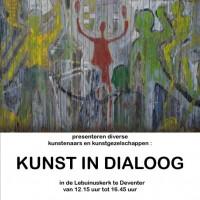 Poster kunstindialoog